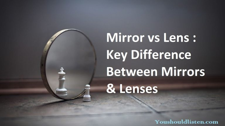 Mirror vs lens Difference between