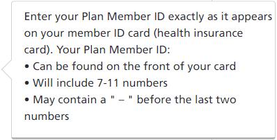 Plan Member ID
