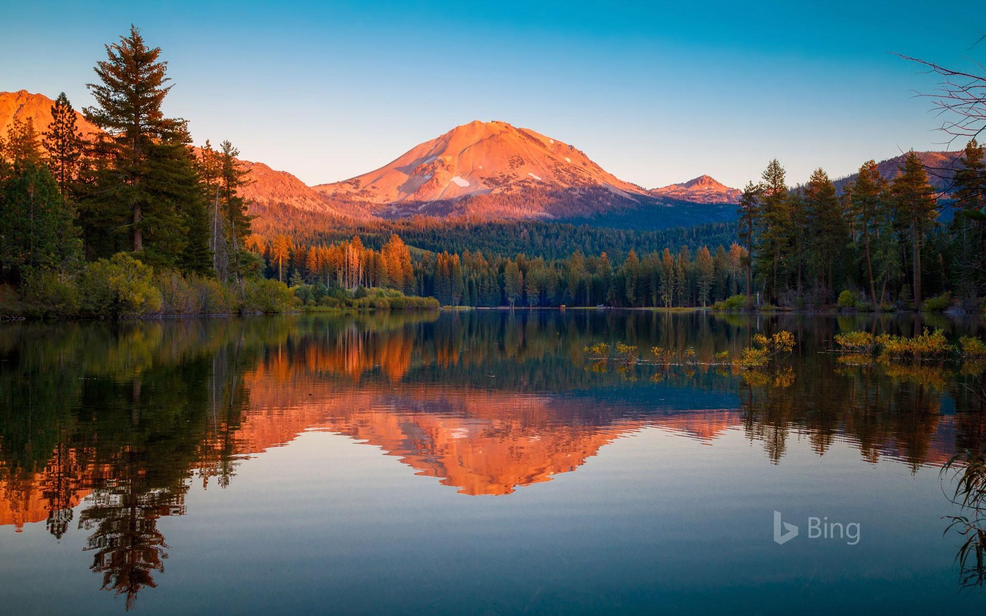 lassen volcanic national park lassen peak