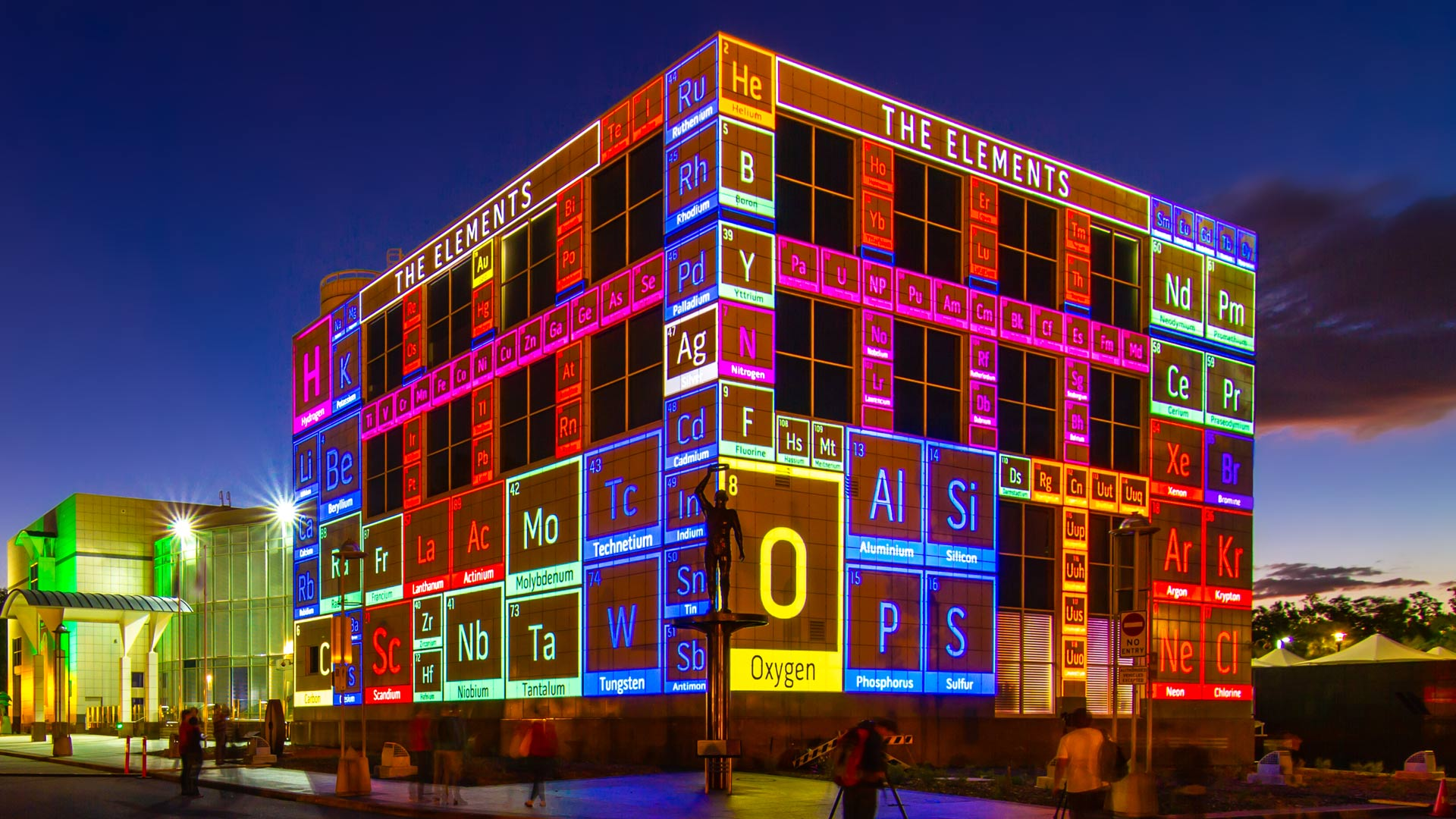 national science week australia questacon periodic table