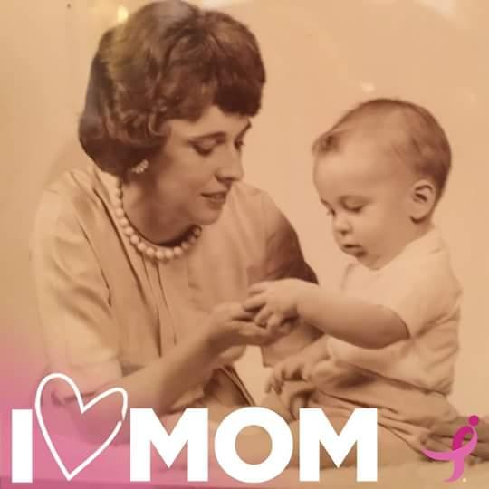 I Love Mom frame
