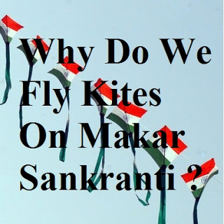 Why do we fly kites on uttarayan ?