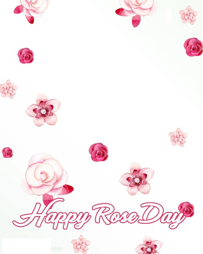 Rose Day Frame