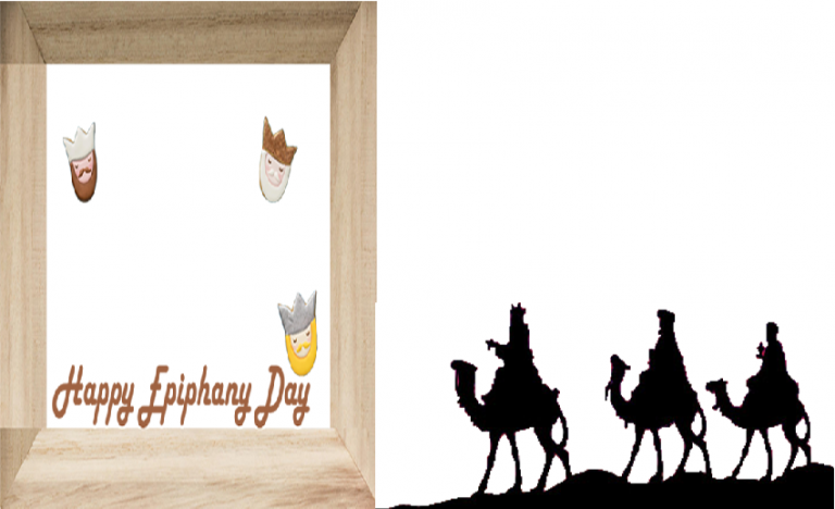 Epiphany day frame